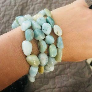 Tiny amazonite stone bracelet